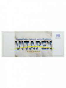 Dental Morita Vitapex Premixed Calcium Hydroxide Root Canal Treatment