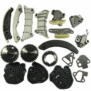 Timing Chain Kit For 07 09 Buick Cadillac Cts Srx Sts Saab Suzuki 3 6l Dohc 24v
