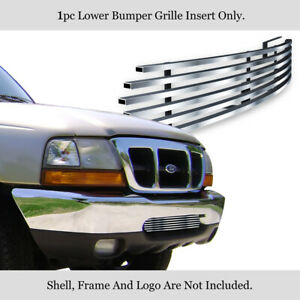 Aluminum Billet Grille Customized For 98 00 Customized Ford Ranger Bumper