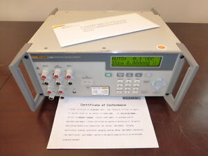 Fluke 525b 120v Temperature Pressure Calibrator With Fresh Mfg Calibration