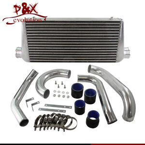 Fmic Twin Turbo Intercooler Kit Fits Toyota Supra Jza80 2jzgte 2jz 93 98 Black