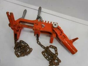 Ridgid C 1071 Chain Vise Soil Pipe Wrench