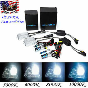 55w Hid Xenon Conversion Kit All Bulb Sizes And Colors H1 H3 H4 H7 H11 9005 9006