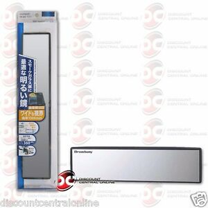 Broadway Shatter Proof Car Rear View Mirror 360mm Convex Bw 849