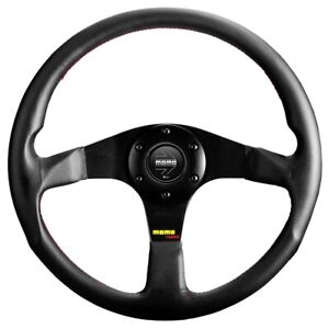 Momo Tuner Leather Steering Wheel 350mm New Sport Competition Tuning Drift