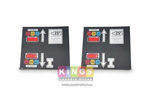 2 Pk American Dryer Adc Ad 330 Stack Dryers Keypad 112562 free Shipping