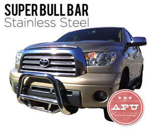 Fits 1992 1998 Jeep Grand Cherokee Stainless Steel Super Bull Bar Brush Guard