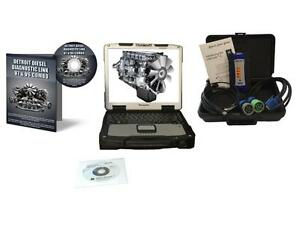 Detroit Diesel Diagnostic Link Engine Laptop Kit With Nexiq Usb Link 2 124032