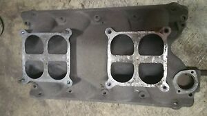 Ford Boss 429 Weiand Tunnel Ram Base