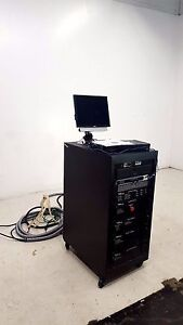 Zpulser Solo Sputtering Dc Power Supply With Zpc d5 Keyboard Pc And Manual