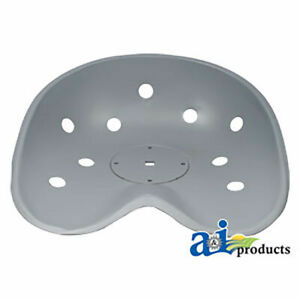 8n400 New Steel Non Flip Pan Seat For Ford new Holland Tractors 600