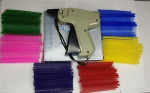 Clothing Price Label Tagging Tag Gun With 3000 Pins Fasteners Package Deal