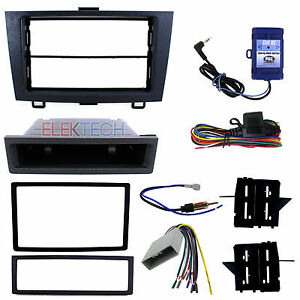 Radio Replacement Dash Kit W Harness Steering Controls For 2007 2011 Honda Cr V