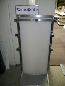 Samsonite Double Side Retail Display Stand