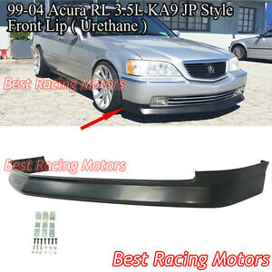 Jp Style Front Bumper Lip urethane Fits 99 04 Acura Rl