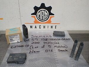 Siemens 6es7 132 4bb31 0aa0 Output Module 2point 2amp 24vdc Lot Of 5