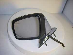Lincoln Town Car 1990 91 92 93 94 Left Driver Exterior Mirror Heated Chrome Oem