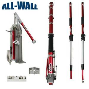 New Level5 Extendable Drywall Taping Set W taper Corner Tools Pump Gooseneck