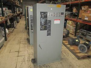 Asco Automatic Transfer Switch W bypass E434326097 260a 480v 60hz Used