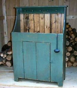 Primitive Handcrafted Dry Sink Middlebury