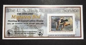 #RW66A 1999 2000 US Federal Duck Stamp Post Office FRESH