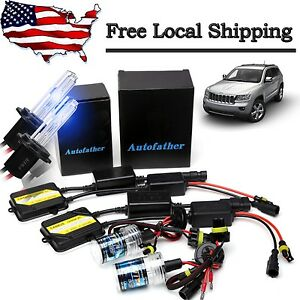 Ac Canbus 55w Hid Xenon Conversion Kit Bulbs For Jeep Grand Cherokee 1999 2004