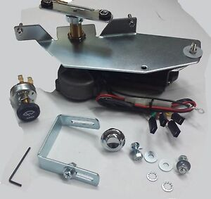 1958 1959 Chevrolet Gmc Truck 12v Wiper Motor Kit Replaces Original Vacuum Unit
