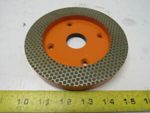 8725a34 Diamond Grinding Wheel Fine 6 Od X 1 1 4 Id X 3 4 Thick