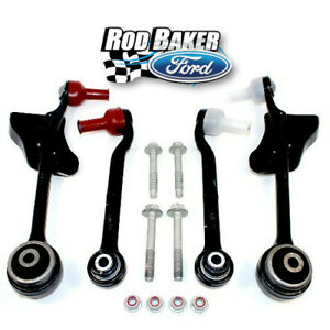 2015 2017 Ford Mustang Gt Front Control Arm Kit Upgraded Performance Vs Oem