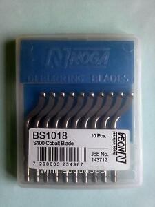10pcs Bs1018 S100 Blades Hand Deburring Tool New