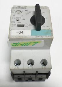 Siemens 600v 30ka Self Protected Motor Starter Switch 3rv1421 1fa10