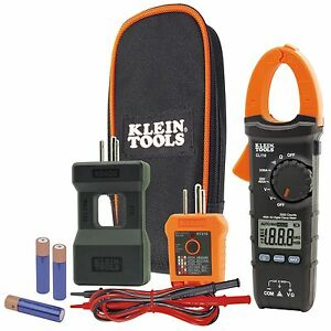 Klein Cl110kit Electrical Maintenance And Test Kit W Cl110 Tester Splitter