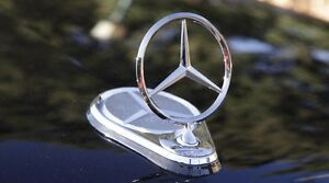 Mercedes Benz Electronic Hood Star Emblem Up Down Remote Control Model With Hole