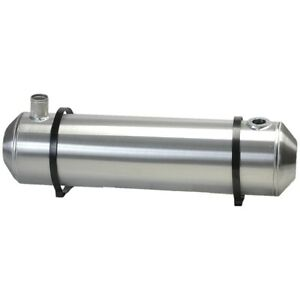 10x33 End Fill Spun Aluminum Gas Tank With Remote Filler Neck And Sender