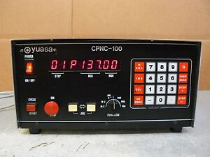 Yuasa Cpnc 100 Controller For Indexer Rotary Table
