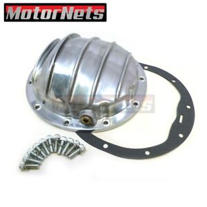 Gm Chevy 10 Bolt Polish Aluminum Rear Differential Cover 8 5 Ring Gear Gasket