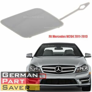 Front Bumper Tow Hook Cover Cap Primered For Mercedes W204 C Class 2048850426