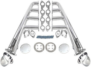 New Lake Style Stainless Steel Headers With Ceramic Turnouts bbc 366 502 V 8