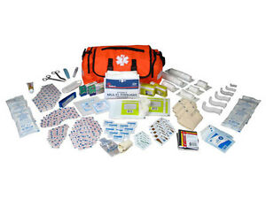 Oncall Firstaid Responder Paramedic Medical Emt Trauma Kit Fully Stocked Orange