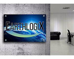 Acrylic Custom Sign Size 24 X 36 Full Color Your Logo Or Message Outdoor Sign