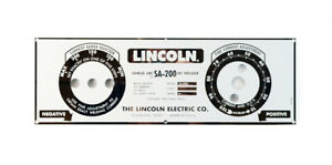 Lincoln Sa 200 Blueface Faceplate m8803 Custom Mirrored Stainless Steel Bw679