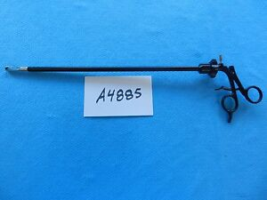 V Mueller Surgical Laparoscopic Insulated Ratcheting Monopolar Claw Forceps