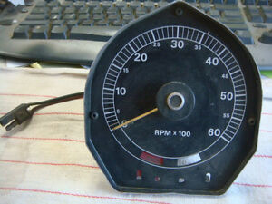 Original 69 70 Cougar Xr7 Tachometer 6000 Rpm Tach Gauge C9wy 17360 Dated J9