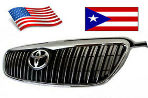 New Toyota Corolla 2003 2008 Altis Chrome Black Jdm Grill With Emblem