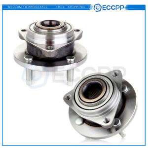 2x Front Wheel Hub Bearing Left Right Pair Set For Cobalt Pontiac G5 Saturn Ion