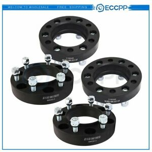 4pc 1 25 6x5 5 6x139 7 Hubcentric Wheel Spacers For Toyota Fj Cruiser 2007 2017