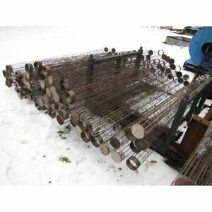 Used 4 5 Dia X 96 Long Mikropul Stainless Steel Cages