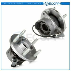 2 New Front Wheel Hub Bearing Left Or Right For Cobalt Ion G5 Hhr Pursuit 513206