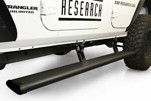 Amp Powerstep Electric Running Boards For 07 17 Jeep Wrangler Jk Unlimited 4 Dr