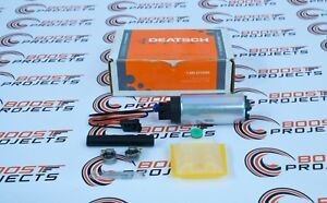Deatschwerks 320 Lph In tank Fuel Pump W Universal Set Up Kit